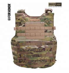 COLETE TÁTICO MODULAR FORHONOR N3 A MOLLE 2 MULTICAM