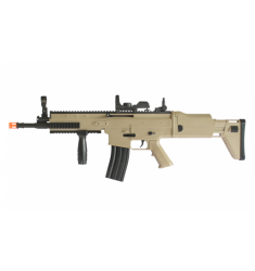 RIFLE AIRSOFT CYBERGUN SCAR-L SPRING TAN