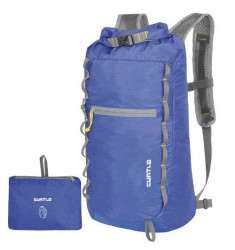 MOCHILA ULTRA COMPACTA CURTLO X-COMPRESS POCKET SERIES AZUL