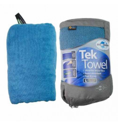 TOALHA ULTRA ABSORVENTE SEA TO SUMMIT TEK TOWEL TAM. G AZUL