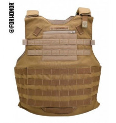 COLETE TÁTICO MODULAR FORHONOR N3 A MOLLE 2 COYOTE