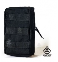 BOLSO VERTICAL MINI MODULAR PRETO WARFARE
