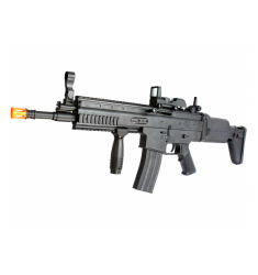RIFLE AIRSOFT CYBERGUN SCAR-L SPRING BLACK