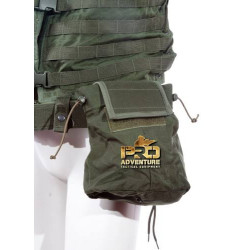 BOLSO MODULAR MOLLE 2 MAG DISPENSER WARFARE PRETO