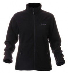 JAQUETA FLEECE FEMININA HI TEC POLARIS LADY PRETO
