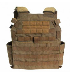 COLETE TÁTICO PLATE CARRIER MODULAR MOLLE 2 COYOTE TAM. M