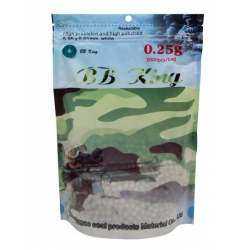 BBS AIRSOFT BB KING 0.25G 4.000 UN