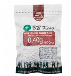 BBS AIRSOFT BB KING 0.40G 1.000 UN