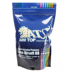 BBS AIRSOFT AIMTOP HIGH PRECISION 0,25G 3.800 UN